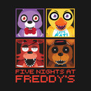 Five Nights at Freddy's Group T-Shirt