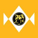 Mighty Morphin Power Rangers Yellow T-Shirt