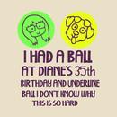 I Had A Ball At Diane's 35th Birthday  T-Shirt