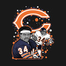 Walter Payton Chicago Bears tribute T-Shirt