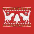 Funny Ugly T-REX Christmas Sweater T-Shirt