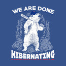 Cubs World Series 2016 Hibernating Bears Shirts T-Shirt