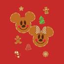 Mickey & Minnie Gingerbread T-Shirt
