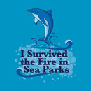 I survived the fire in sea parks T-Shirt