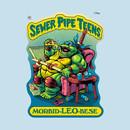 SEWER PIPE TEENS: Morbid-LEO-bese T-Shirt