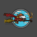 Wizard Flying Ace T-Shirt