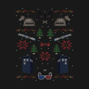 Ugly Doctor Who Christmas Sweater T-Shirt