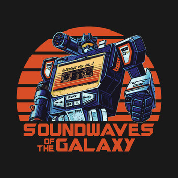 Soundwaves of the Galaxy T-Shirt