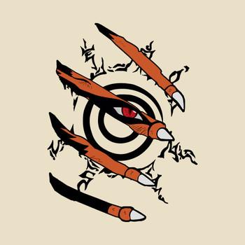Naruto Nine tails T-Shirt