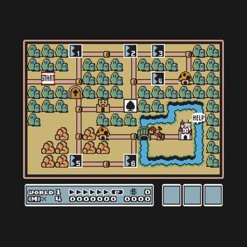 Super Mario Bros 3 World 1 T-Shirt