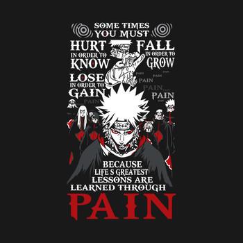 Naruto Pain Learn Shirt - TP00264 T-Shirt