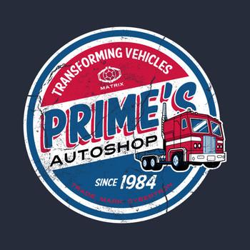 Prime's Autoshop T-Shirt