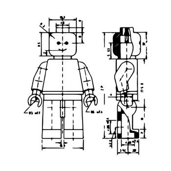 Lego architecture T-Shirt