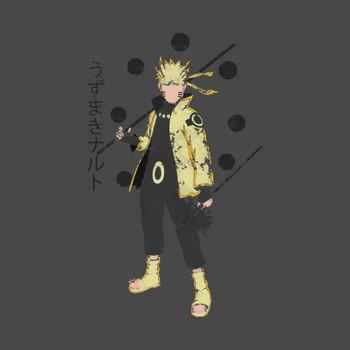 Naruto Uzumaki Sage of Six Paths T-Shirt