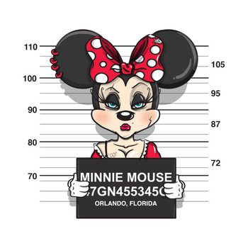 Bad Guys / Minnie Mouse T-Shirt