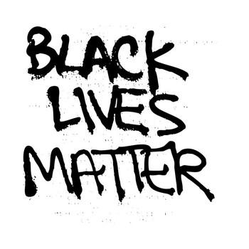 Black Lives Matter II (Black Text) T-Shirt
