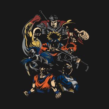 invincible anime team T-Shirt