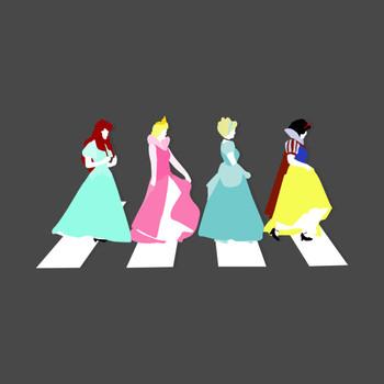 Princesses on Abbey Road T-Shirt