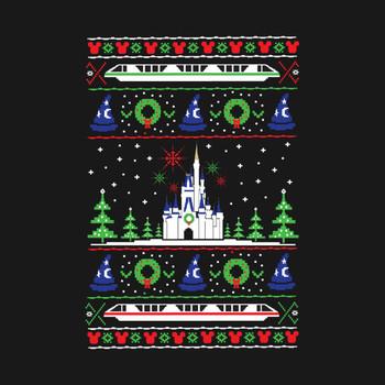 Magical Kingdom Christmas Sweater T-Shirt