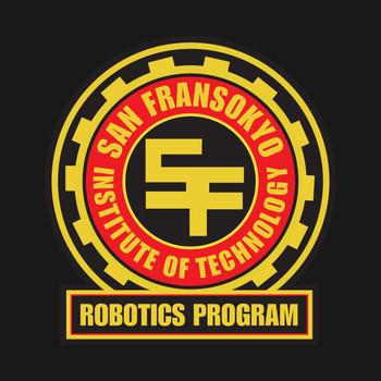 San Fransokyo Institute of Technology Robotics Program T-Shirt