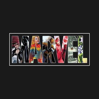 Marvel Girl Power T-Shirt
