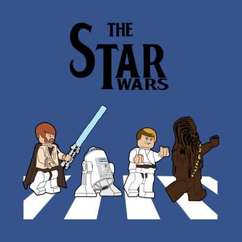Star Wars Abbey Road Lego T-Shirt