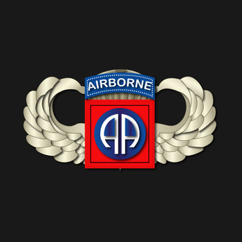 82nd Airborne Division - Wings T-Shirt