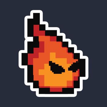 Watch Out for Fireballs! Logo T-Shirt