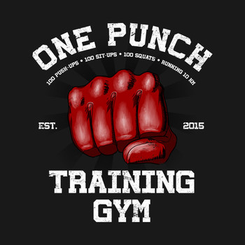 One Punch Gym T-Shirt