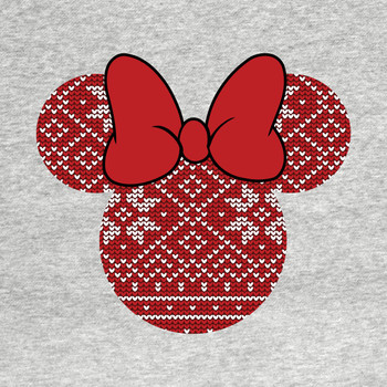 Minnie Mouse Christmas Pattern T-Shirt