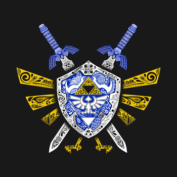 Heroes Legend - Zelda T-Shirt