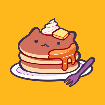Cat Pancakes T-Shirt