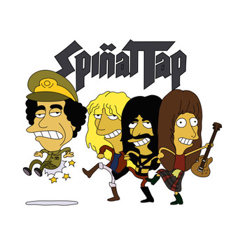 Simpsons Spinal Tap Tour Shirt T-Shirt