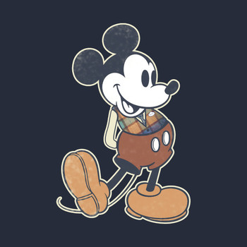 Mickey in Plaid T-Shirt