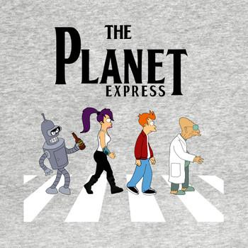 Futurama Abbey Road T-Shirt