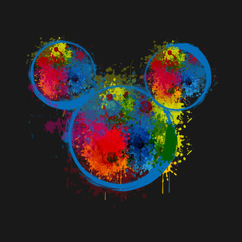 Drop Ink mickey T-Shirt