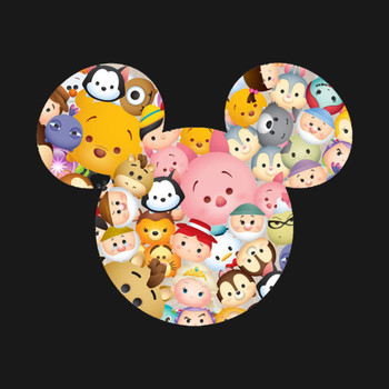 Tsum Tsum Mickey Mouse t-shirt T-Shirt