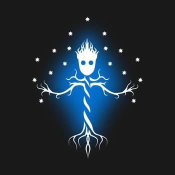 Guardian tree of the galaxy T-Shirt