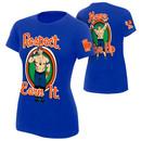 """John Cena """"Respect. Earn It."""" Women's Authentic T-Shirt"""