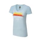 WrestleMania 33 Light Blue Women's V-Neck T-Shirt