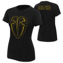 """""""Roman Reigns """"""""I Can I Will"""""""" Gold Edition Women's T-Shirt"""""""