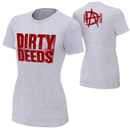 """Dean Ambrose """"Dirty Deeds"""" Women's Authentic T-Shirt"""