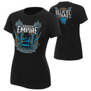 """""""Roman Reigns """"""""Spare No One, Spear Everyone"""""""" Women's Authentic T-Shirt"""""""