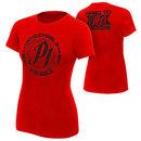 """AJ Styles """"Untouchable"""" Red Women's T-Shirt"""