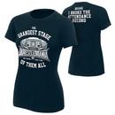 """""""WrestleMania 32 """"""""Attendance Record"""""""" Women's T-Shirt"""""""