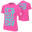 """""""Dolph Ziggler """"""""It's Not Showing Off"""""""" Retro T-Shirt"""""""