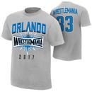 """WrestleMania 33 """"Orlando"""" Sport Silver Youth T-Shirt"""