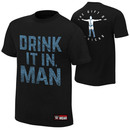 """Chris Jericho """"Drink It In Man"""" Youth Authentic T-Shirt"""