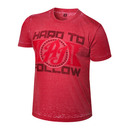 """AJ Styles """"Hard to Follow"""" Acid Wash T-Shirt"""
