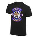 """WWE x NERDS John Cena """"Hustle Loyalty Respect"""" Cartoon T-Shirt"""